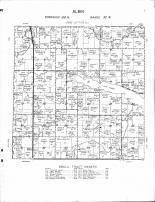Albin Township, Lake Hanska, Cottonwood River, Brown County 1964 Published by Thomas O. Nelson Co
